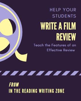 Writing a Film Review: Features of a Review & Planning Page