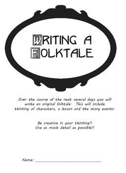 Writing a Folktale