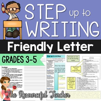 step up to writing writing a friendly letter