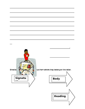 Writing a Friendly Letter Plus Lesson
