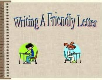 Writing a Friendly Letter Podcast