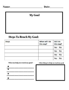 Writing a Goal