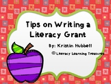 Writing a Grant- Tips