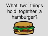 Writing a Hamburger Paragraph - PowerPoint