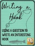 Writing a Hook ~ using questions ~ Teacher Treasure Hunter freebie