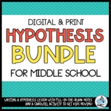 Writing a Hypothesis Bundle for Middle School