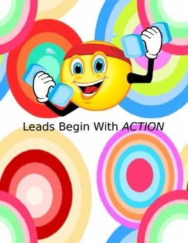 Writing a Lead Strategy Poster