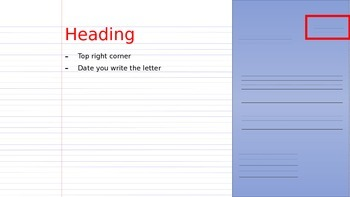 Writing a Letter Second Grade