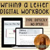 Writing a Letter {Activities for Writing a Friendly Letter} | Pen Pal