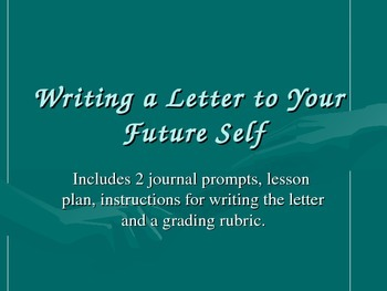 New Year's Goals and Accomplishments: Writing a Letter to Your Future Self