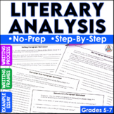 Literary Analysis Essay Writing Activity