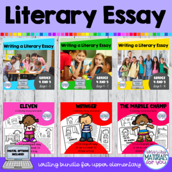 Writing a Literary Essay BUNDLE (Lucy Calkins)