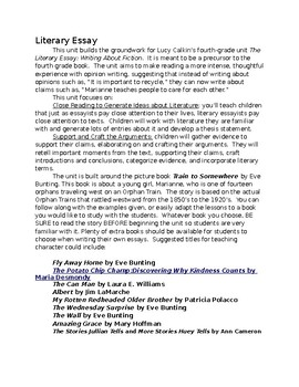 Essay On Impact Of Media On Society Writing A Literary Essay Grade  Writers Workshop Othello Tragic Hero Essay also Good Character Essay Writing A Literary Essay Grade  Writers Workshop By Tara Geisel Essay About Poor People