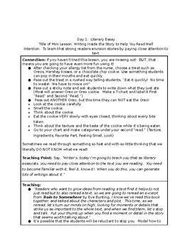 Writing a Literary Essay Grade 3: Writer's Workshop