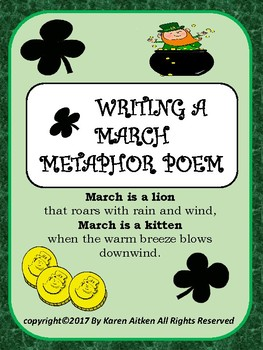 Writing a March Metaphor Poem