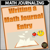 Writing a Math Journal:  Math Posters for your Classroom