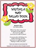 Writing a May Ballad Poem