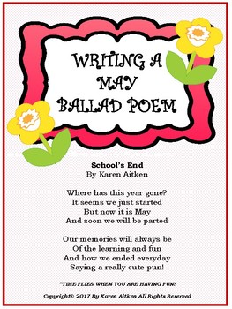 Writing a May Ballad Poem