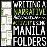 Writing a Narrative 101: Using Interactive Manila Folders {Common Core Aligned}