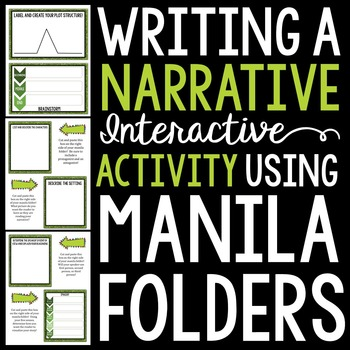 Writing a Narrative 101: Using Interactive Manila Folders {Common Core Aligned}