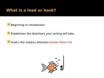 Writing a Narrative Lead