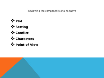 Writing a Narrative PPT