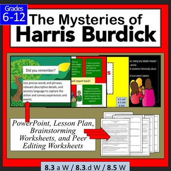 Harris Burdick Writing a Narrative Lesson