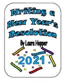 Writing a New Year's Resolution:lesson plan, organizers, e