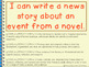 Writing Process - Writing a News Story From a Story Scene or Novel