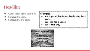 Writing a News story powerpoint