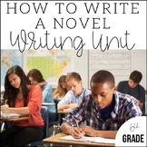 Writing a Novel in 6th Grade | Unit 7 | End of Year CCSS Aligned Lesson Plans