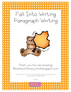 Writing a Paragraph