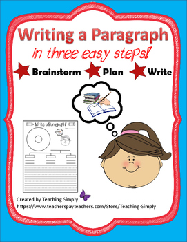 Writing a Paragraph: A Guided Teaching Activity - Graphic