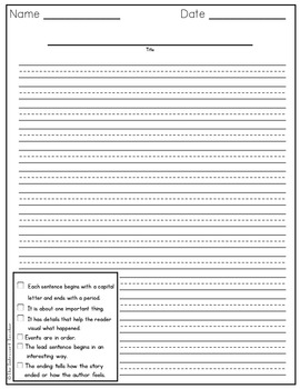 Writing a Paragraph: An Event at School
