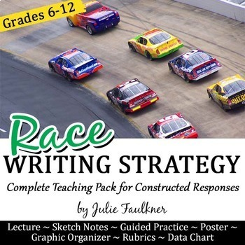 Writing a Paragraph, Constructed Response Strategy, RACE Complete Teaching Pack