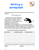 Writing a Paragraph Essay