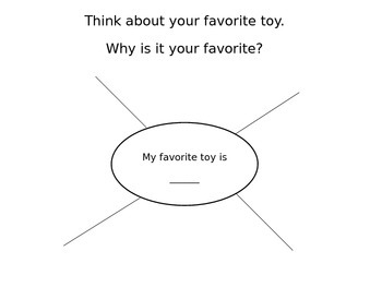 Writing a Paragraph-My Favorite Toy
