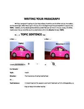 Writing a Paragraph: Outline