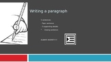 Writing a Paragraph PowerPoint