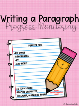 Writing a Paragraph-Progress Monitoring