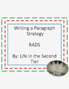 Writing a Paragraph with the Strategy RADS