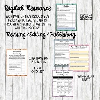 Writing a Personal Narrative Digital Resource