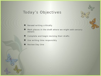 Writing a Personal Narrative PowerPoint Week 3