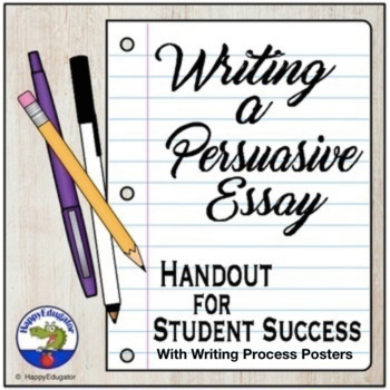 Writing a Persuasive Essay Handout - Reference Guide
