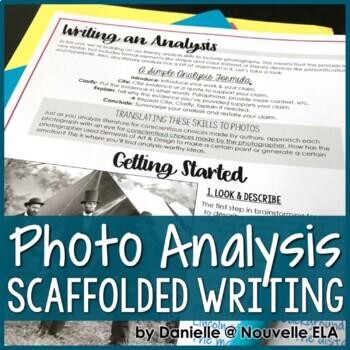 Writing a Photo Analysis - Media Literacy Lesson