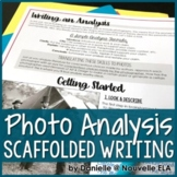 Writing a Photo Analysis - Media Literacy Lesson