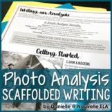 Writing a Photo Analysis - Media Literacy Lesson freebie