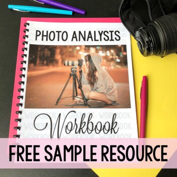 Writing a Photo Analysis - Media Literacy Lesson freebie