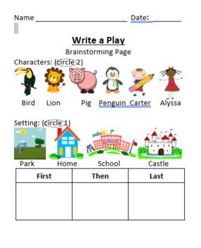 Writing a Play Scene