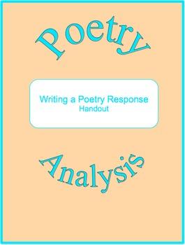 Writing a Poetry Response (Freebie)